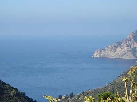 Das Kleine Naturstein Rustico Liegt In Südlage Einem Hang Oberhalb Von Vernazza Im Naturpark Der Cinque Terre Blick Ist äusserst Reizvoll über